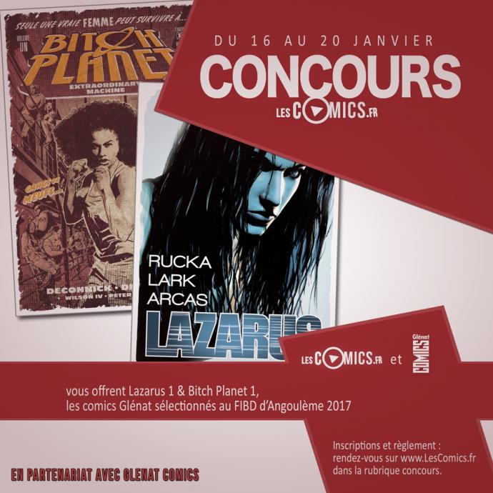 Concours Glenat Comics Angouleme 2017