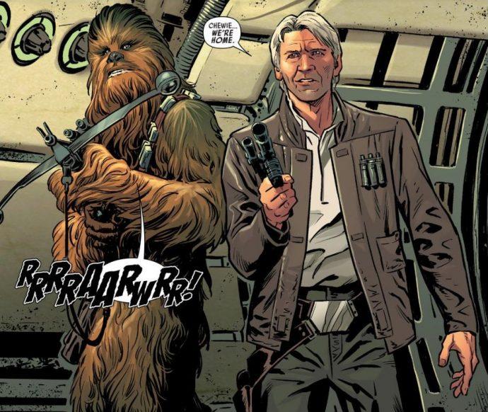 Chewbacca et Han Solo sont de retour !