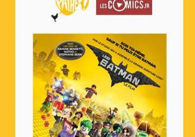 Lego Batman à voir avec LesComics.fr