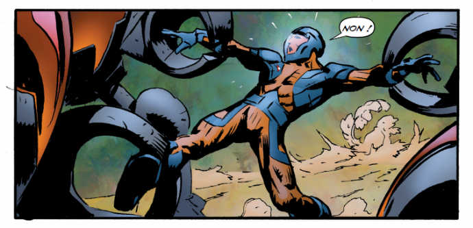 Le piège se referme sur X-O Manowar
