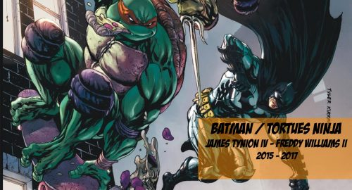 Comics In Motion : Batman et les Tortues Ninja