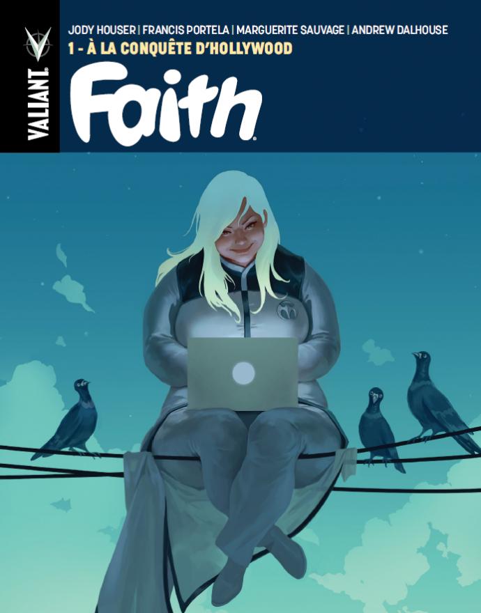Faith chez Bliss Comics