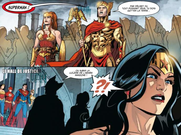 Les amazones et Wonder Woman dans Injustice