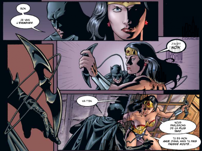 Wonder Woman et Batman en viennent aux mains