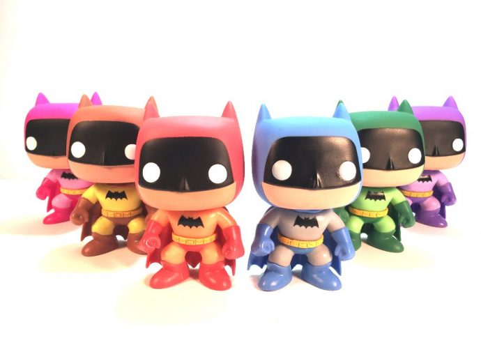 Pop Rainbow Batman