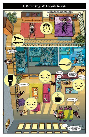 Quantum et Woody chez eux