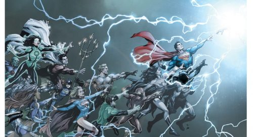 Le rebirth de DC Comics