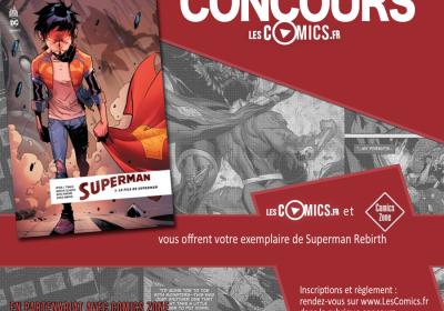 Gagnez votre Superman Rebirth publié par Urban Comics