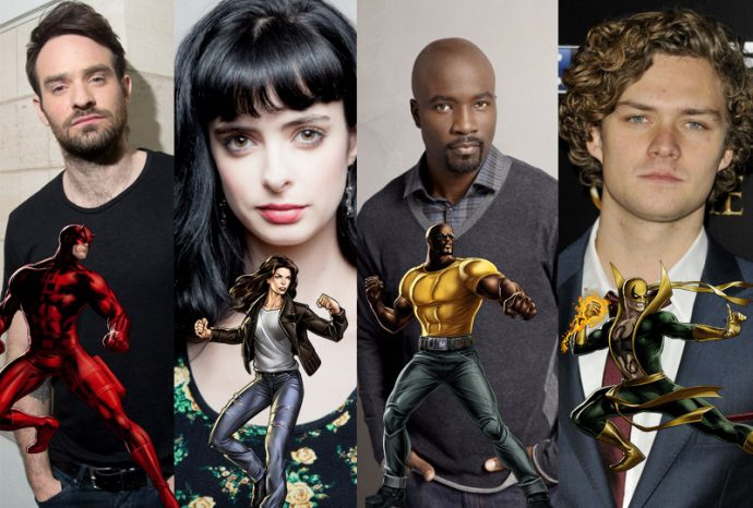 The Defenders version Netflix