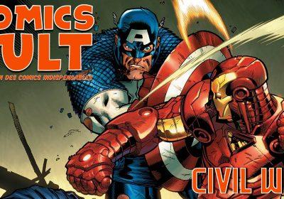 Civil War dans Comics Cult