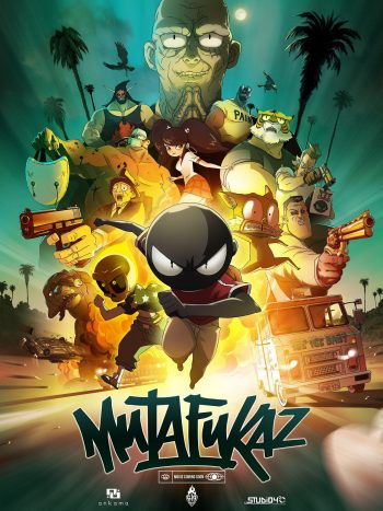 mutafukaz film label 619
