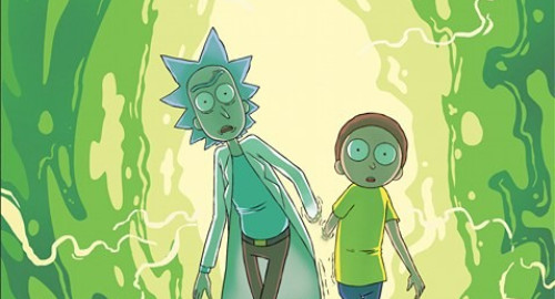 rick et morty hi comics tome 1