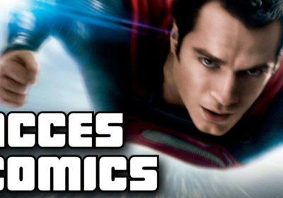 Acces Comics : Man Of Steel