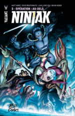 Ninjak tome 3 Bliss Comics