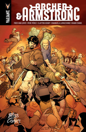 Archer & Armstrong - Bliss Comics Valliant