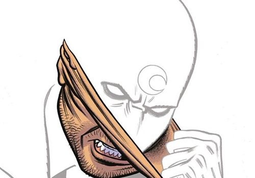Moon Knight enlève son masque de Spector