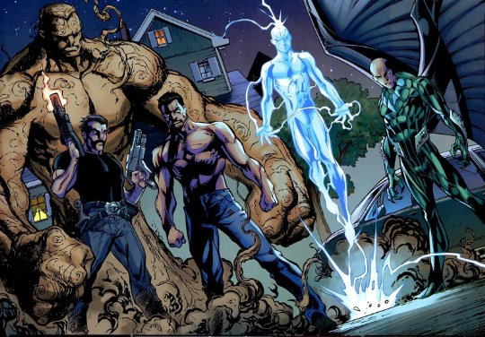 """Les """"Sinister Six"""" sauce Ultimate"""