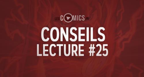 Conseil Lecture Comics 25 LesComics.fr