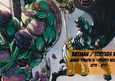 Comics In Motion : Batman et les Tortues Ninja