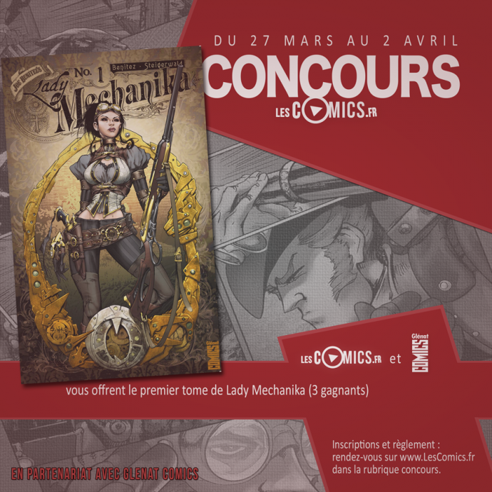 Concours Lady Mechanika Glenat Comics