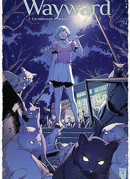 La couverture de Wayward publié par Glénat Comics