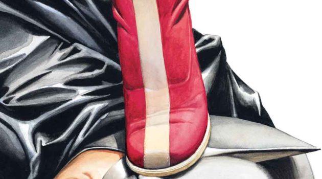 la couverture de GR présente Wonder Woman