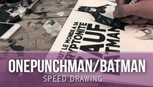Speed Drawing Batman