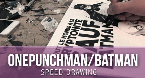 Speed Drawing Batman