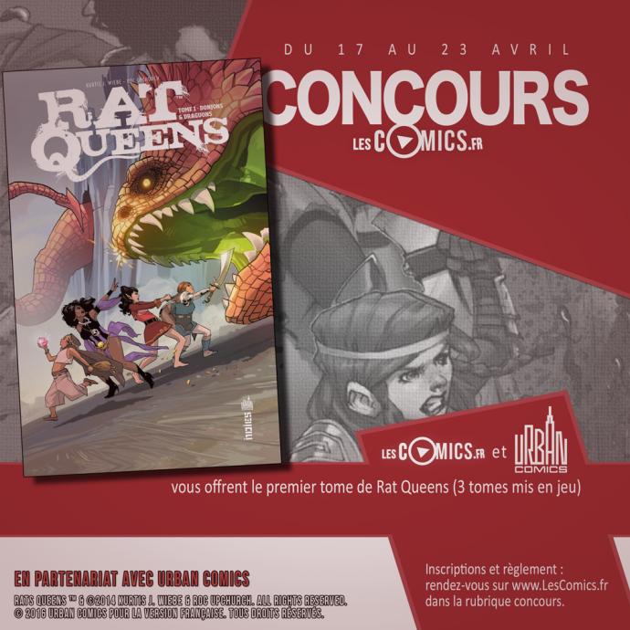 Concours Rat Queens Urban Comics