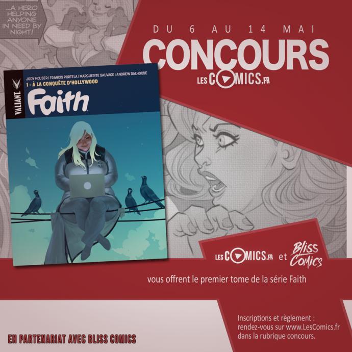 Faith Valiant Bliss Comics Concours
