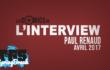 Paul Renaud en interview