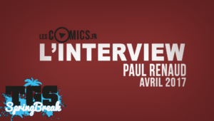 Paul Renaud en interview