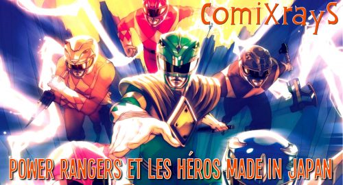 Power Rangers dans ComiXrayS