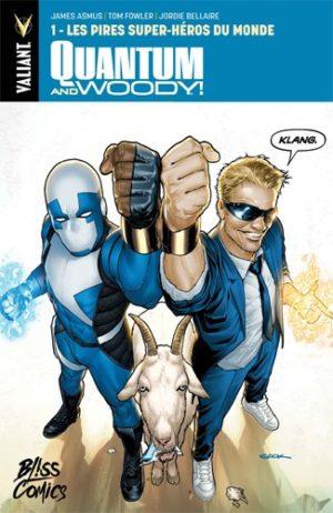 Quantum & Woody Bliss Comics 1
