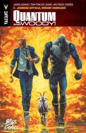 Quantum & Woody chez Bliss Comics