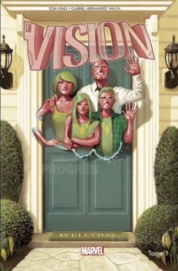vision comics marvel