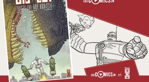 Big Guy & Rusty glénat comics