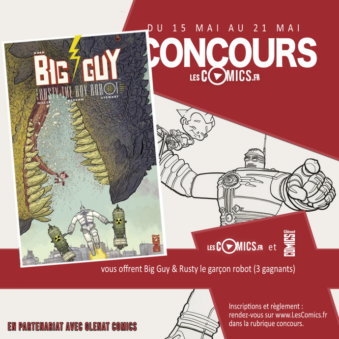 Big Guy & Rusty glénat comics