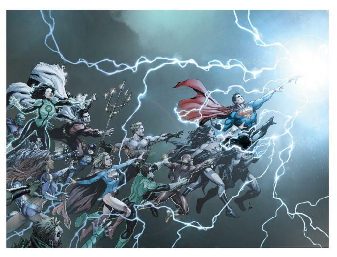 Le rebirth de DC Comics