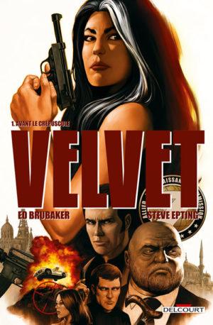 Velvet 1 Delcourt comics