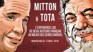 Ciro Tota et Jean-Yves Mitton à Quai des Bulles
