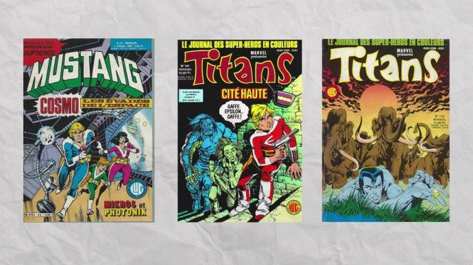 Mustang et Titans aux éditions LUG