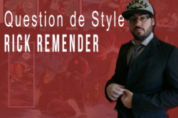 Rick Remender dans Question De Style par Comics Grincheux