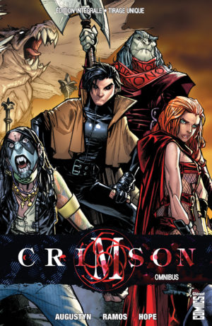 Crimson Intégrale Omnibus Glénat Comics