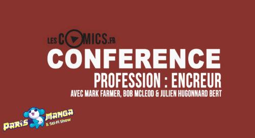 Conférence profession encreur
