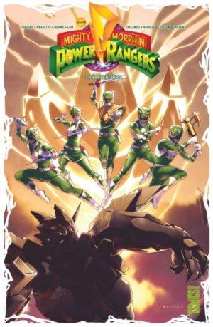 Power Rangers Tome 3 Glénat Comics