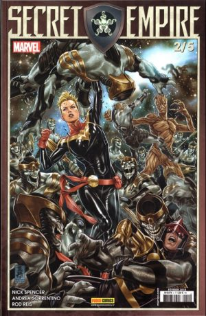 Secret Empire 2 Mars 2018 Panini Comics