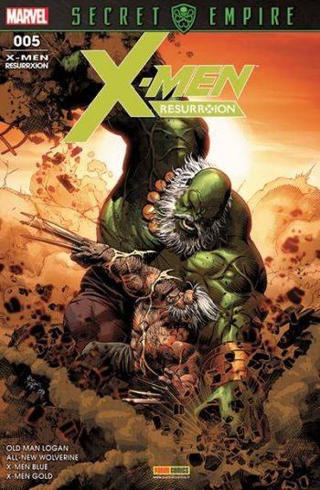 X-MEN ResurrXion Mars 2018 Panini Comics
