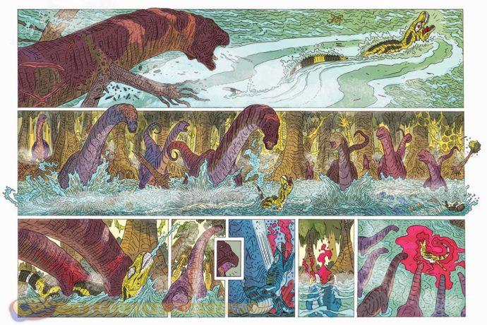 Au Temps Des Reptiles chez Paperback