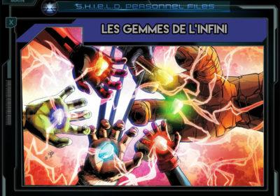Marvel Encyclopédie Gemmes de l'infini